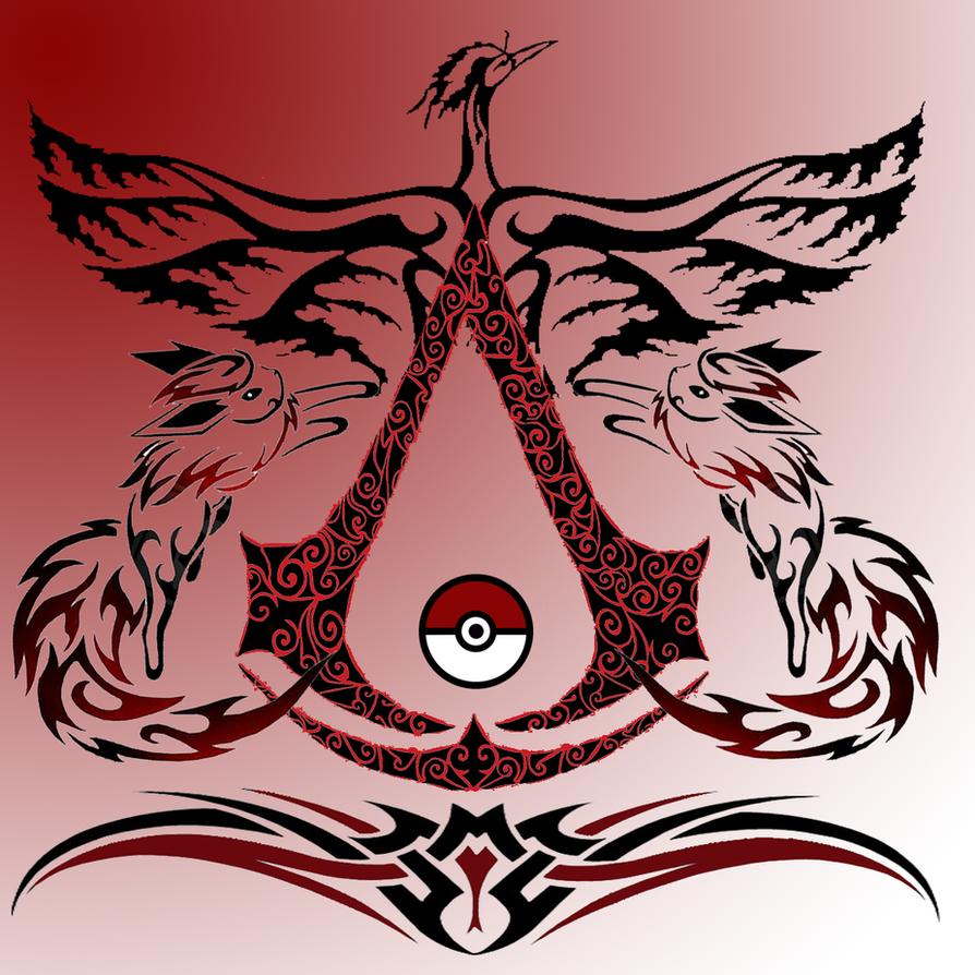 Flareon Pkmn Assassin creed 2 Logo by ZoruaChan1