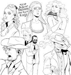 Westworld sketchdump