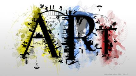Art Is Life ... I by SAOUD-ALJEDI