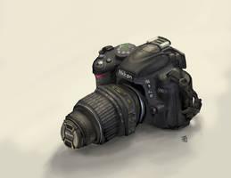 Nikon D3000 Speedpaint