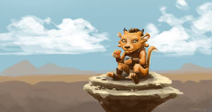 Guild Wars 2 Fanart - Charr at play! by Jeffufu