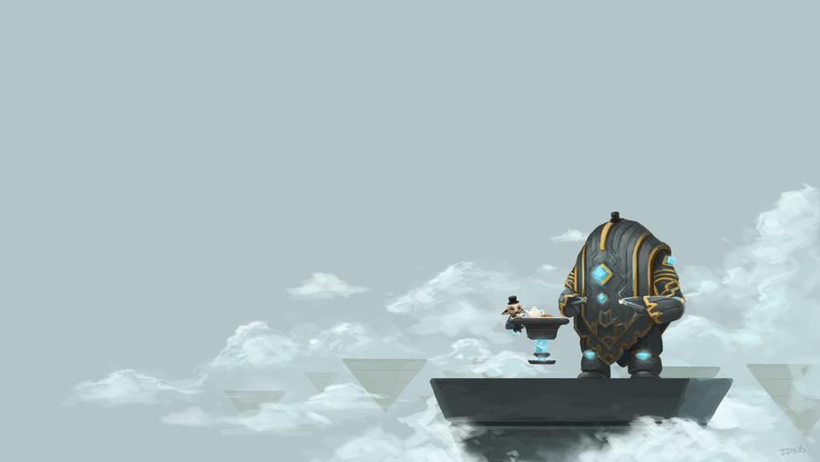 Guild Wars 2 Fanart - Tea Party by Jeffufu