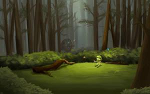 Guild Wars 2 Fanart - Butterflies by Jeffufu