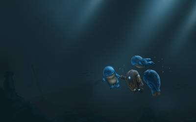 Guild Wars 2 Fanart - Quaggan Adventures