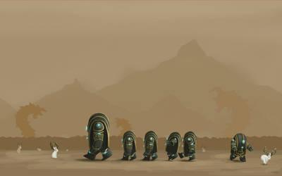Guild Wars 2 Fanart - Jackalope Field Trip by Jeffufu