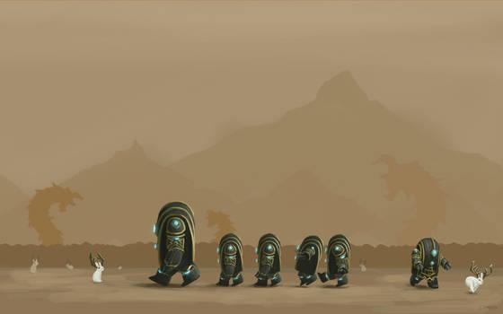 Guild Wars 2 Fanart - Jackalope Field Trip