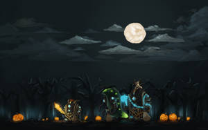 Guild Wars 2 Fanart - Halloween Spirit by Jeffufu