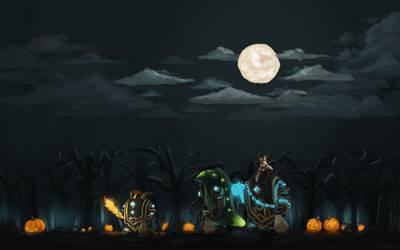 Guild Wars 2 Fanart - Halloween Spirit