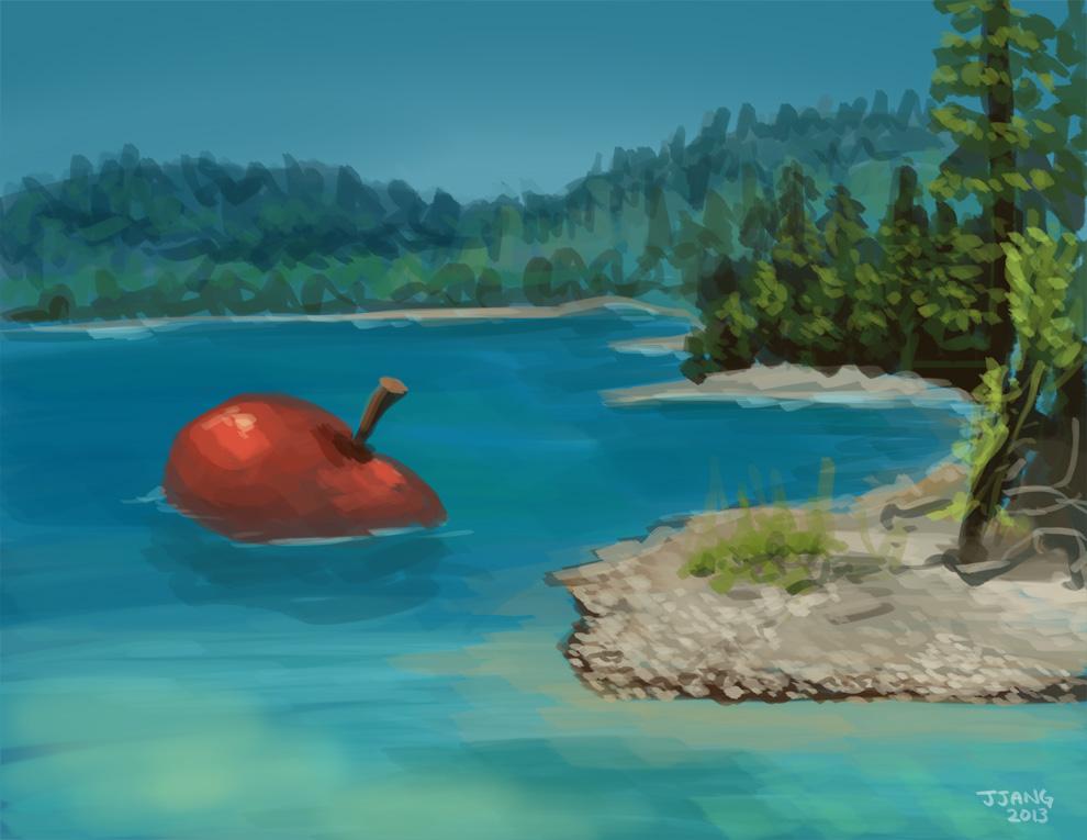 Applelake by Jeffufu