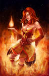 Dota 2 Fan Art - Lina the Slayer