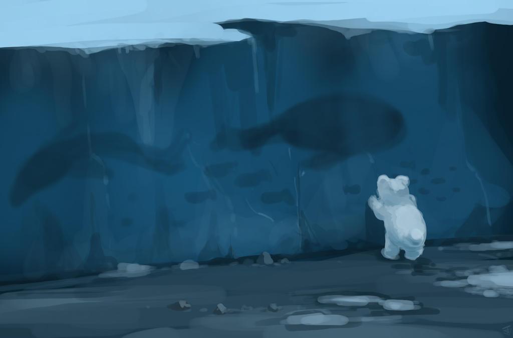 Frozen Sea by Jeffufu