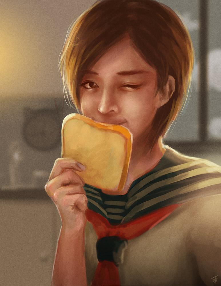 Bread by Jeffufu