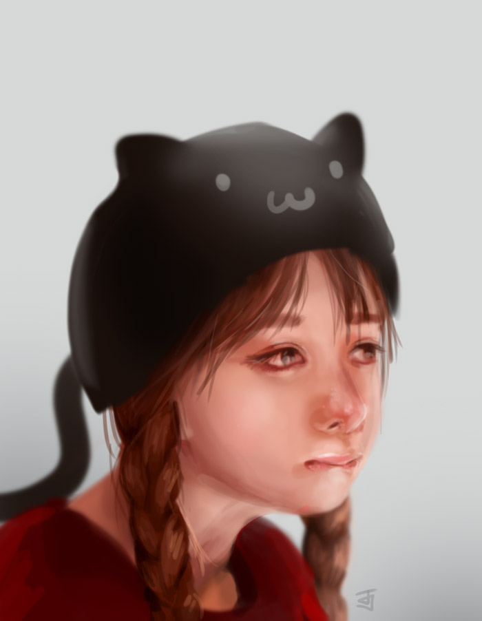 Cat Hat by Jeffufu