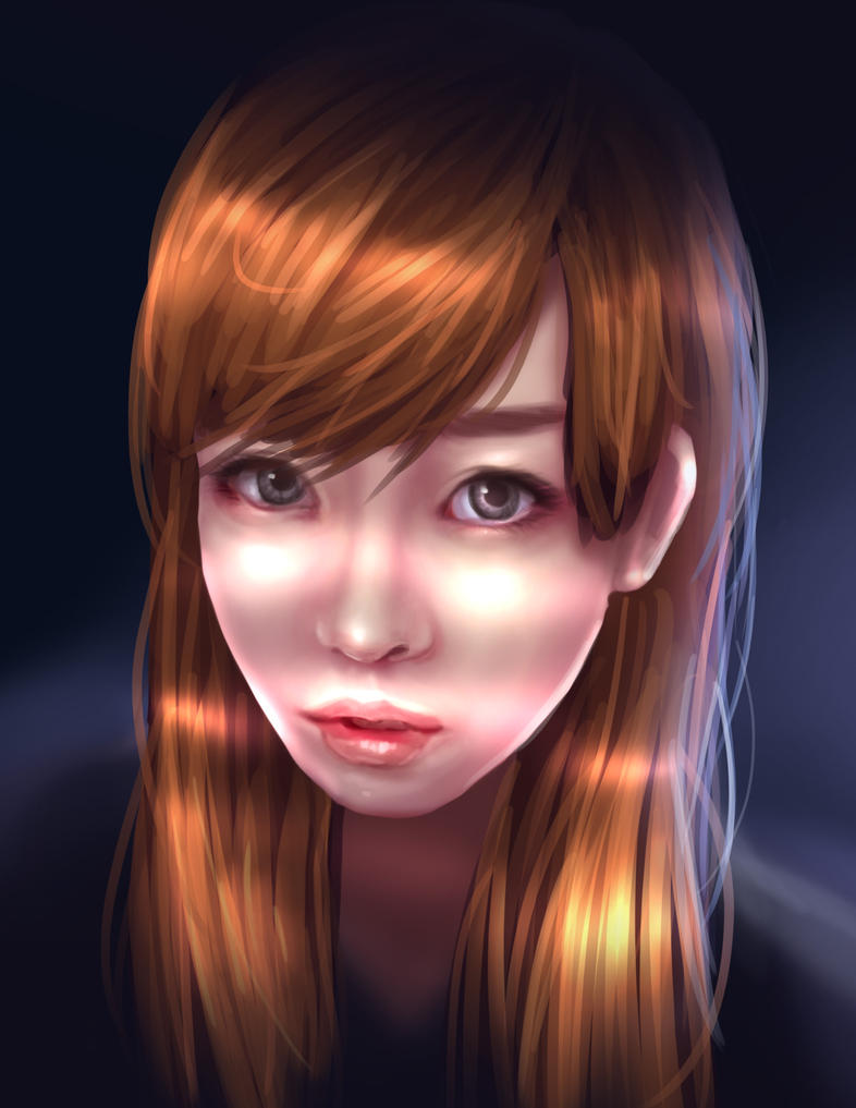 boring portrait by Jeffufu