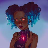 Loish OC Redraw by MeliFalco