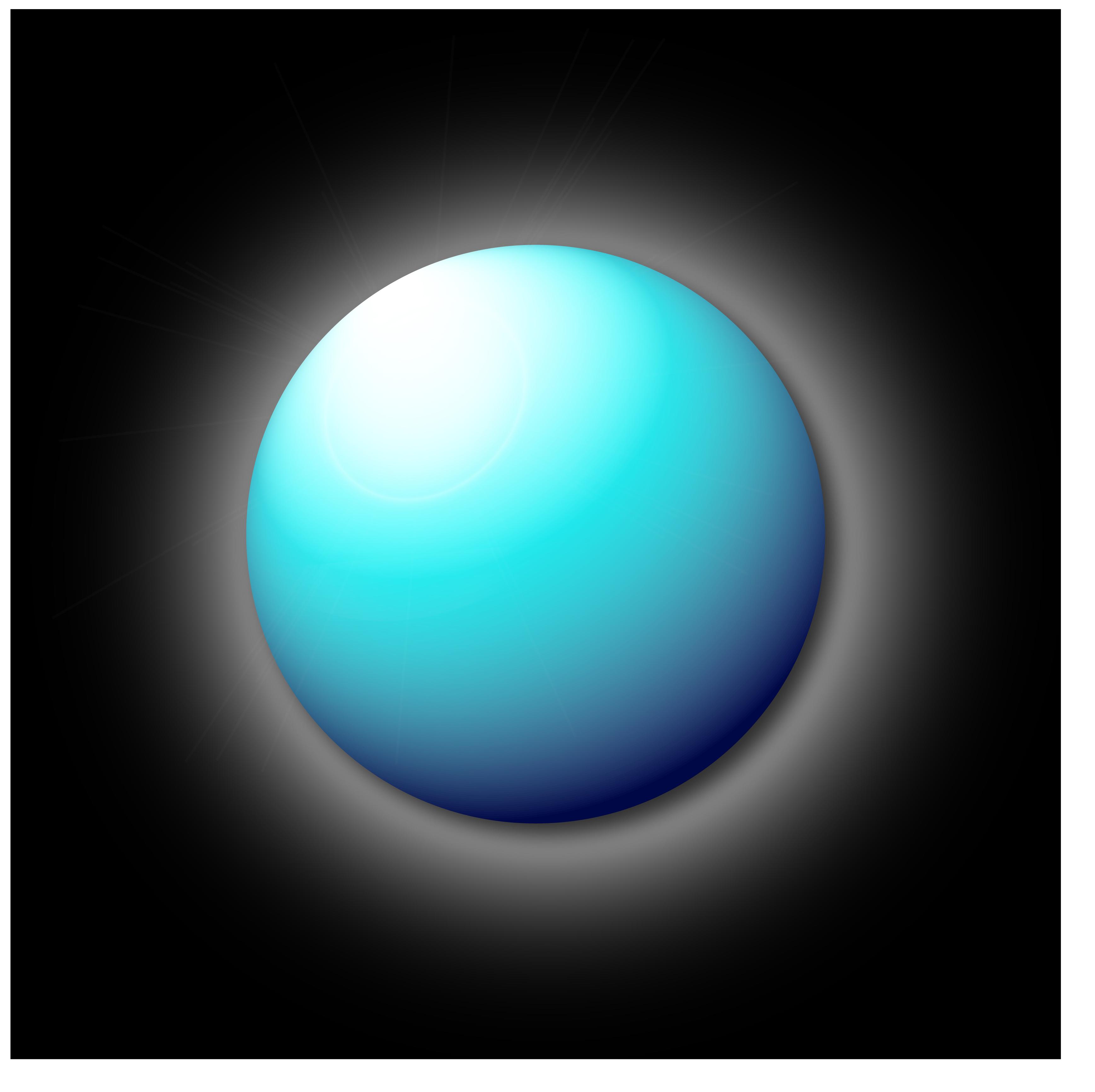 Sphere bleue by etiark