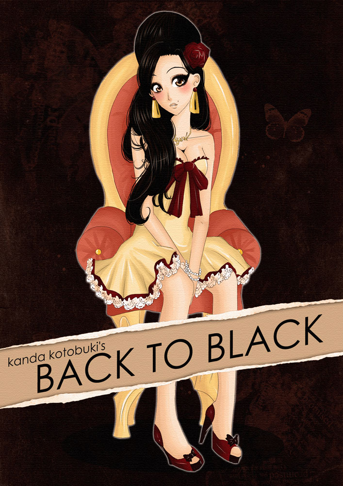 + BACK TO BLACK + by kanda-cgroom