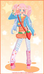 + FRUIT-Gals for Quennie + by kanda-cgroom