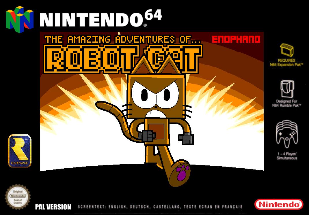N64 Box Art Template