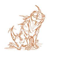 Varren Doodle by Megume