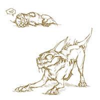 Playful Varren sketch by Megume