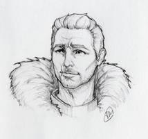 Ser Cullen - sketch by Megume