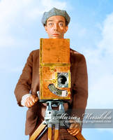 Buster Keaton ~~ 1928 ~~ colourised by Maria-Musikka