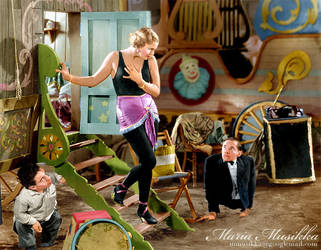 Freaks ~~ 1932 ~~ colourised by Maria-Musikka