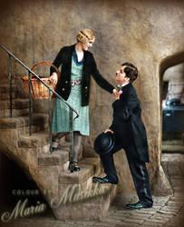 Happy Birthday Charlie Chaplin! by Maria-Musikka
