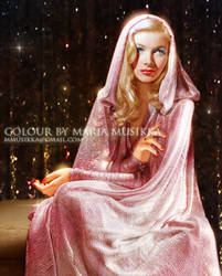 Veronica Lake ~~1941~~ colourised by Maria-Musikka