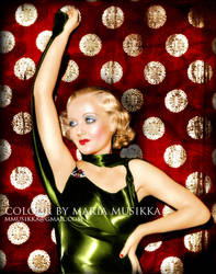 Carole Lombard ~~1930s~~ colourised by Maria-Musikka