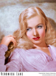 Veronica Lake, 1942 by Maria-Musikka