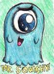 Mr. Squishy by cyborgparanoia