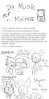 Music Meme 4 by cyborgparanoia