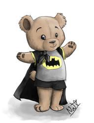Mr. Paddington is the Batman by cyborgparanoia