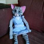 Gloom-Kitten Marionette Puppet (WIP) by cyborgparanoia