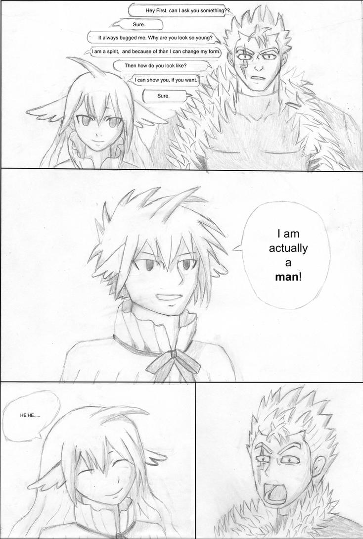 Fairy Tail Comic by BlackStormN7