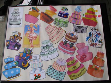 Cake, Cake and even more Cake
