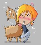 Llama for a Llama... or a hug