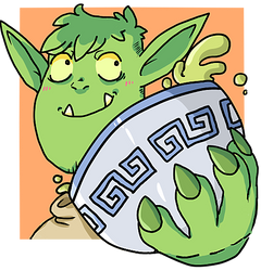 Balbok the Orc by tinygoblin