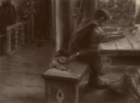 to unwritten tale about a dwarf (ill. 4)
