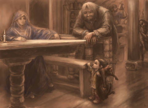 to unwritten tale about a dwarf (ill. 8)