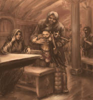 to unwritten tale about a dwarf (ill. 9)