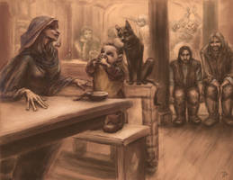 to unwritten tale about a dwarf (ill. 10)