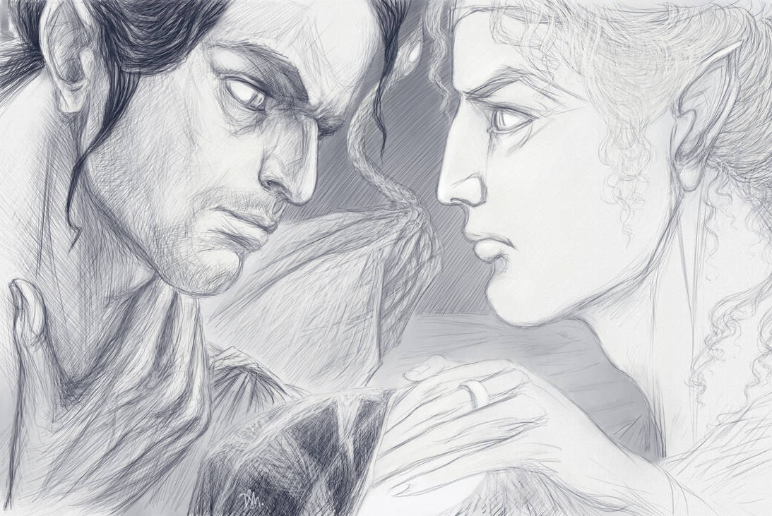 Earendil and Eonwe by Irsanna