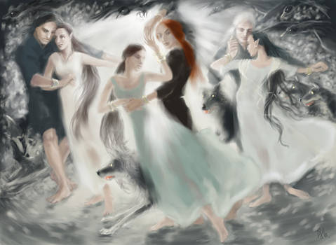 dance of the living and dead elves