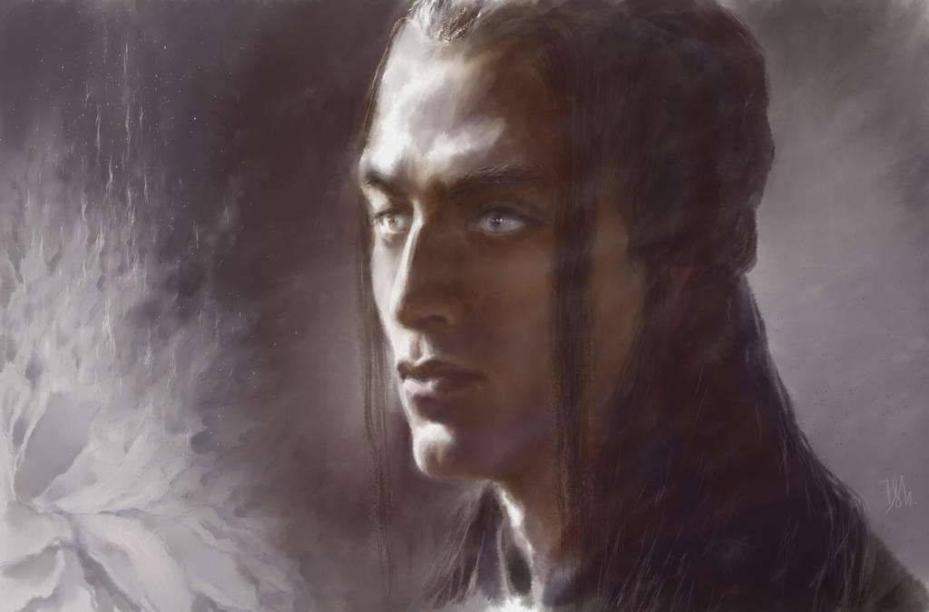 Feanor. Flame of the flower by Irsanna