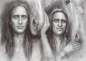 Elves. Brothers by Irsanna