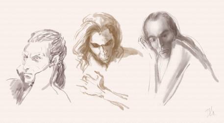 three sketches by Irsanna