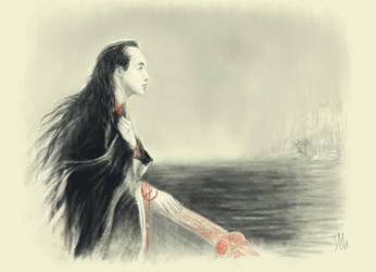Feanor or Genji, Formenos or Akashi by Irsanna